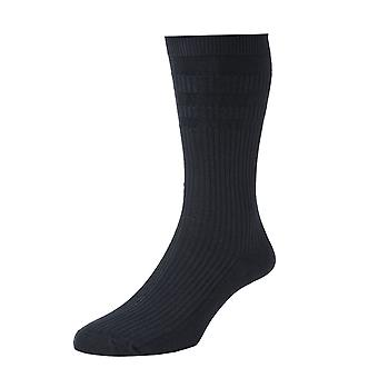 Ladies HJ91 HALL SOFTOP Soft Top loose top Wide Cotton Rich Socks Set of 3
