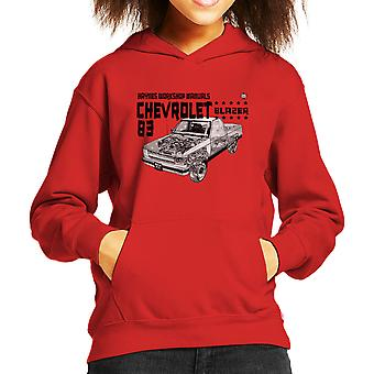 Haynes Owners Workshop Manual Chevrolet Blazer 83 zwarte Kid de Hooded Sweatshirt