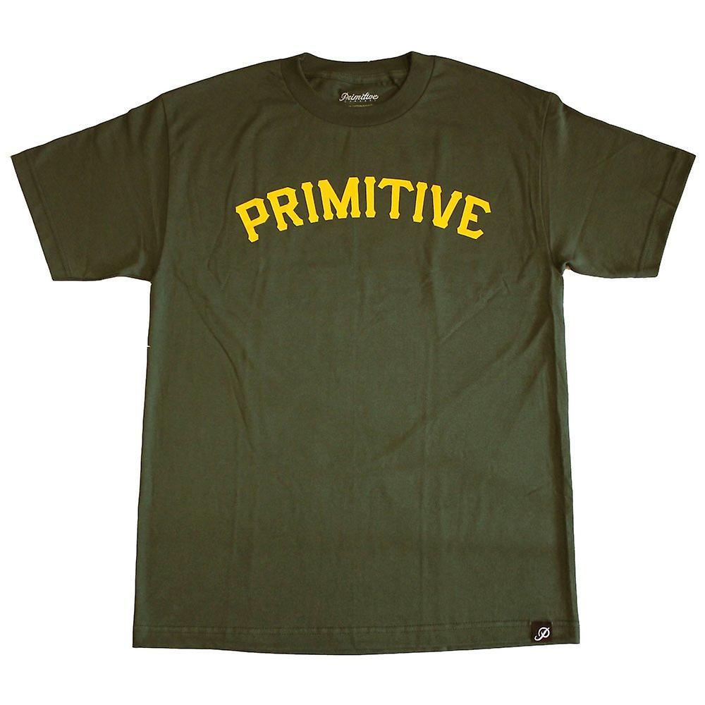 Primitive Apparel Slab 08 T-Shirt Hunter Green