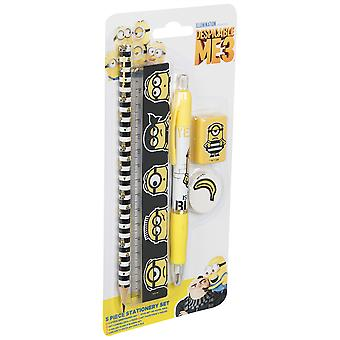 DESPICABLE ME 3 | Slim Stationery Set