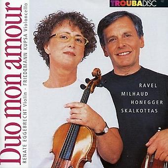 Ravel / Eggebrecht / Poolster25 - Duo Mon Amour: Duos for Violin & Cello: Sonater [CD] USA import