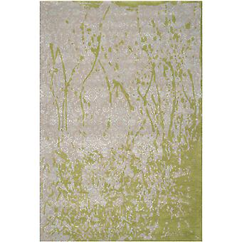 Lolita grå & grøn abstrakt tæppe - Safavieh