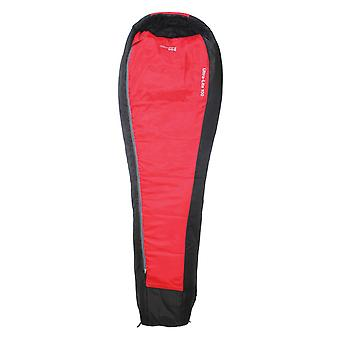 Yellowstone Single Ultra Lite 100 Mummy Sleeping Bag 1 Season Red