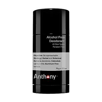 Anthony Logistics alkohol fri Deodorant 70g