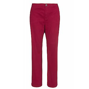 sheego pants women of stretch jeans in plus sizes for size Red