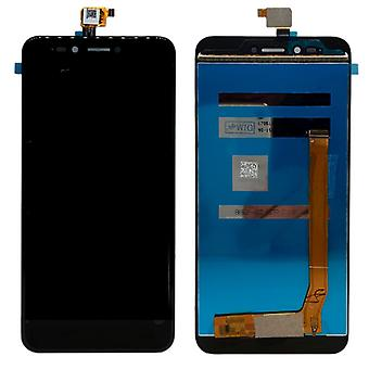 Display full LCD unit touch spare parts for WIKO Upulse repair black new