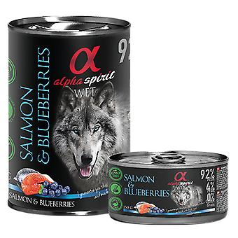 Alpha Spirit Salmon con Cerezas (Dogs , Dog Food , Wet Food)