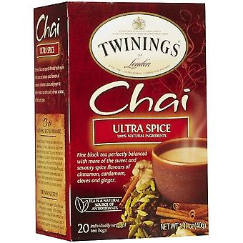 Twinings Of London Chai Ultra Spice Tea