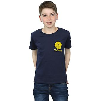Looney Tunes Boys Tweety Pie Head T-Shirt