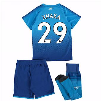 2017-18 arsenal lejos Mini Kit (Xhaka 29)