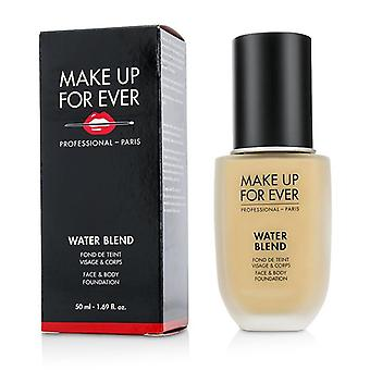 Make Up For Ever Water Blend Face & Body Foundation - # Y315 (Sand) - 50ml/1.69oz