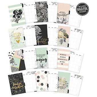 Carpe Diem Beautiful Double-Sided A5 Planner Inserts-Monthly, Undated BEA7954