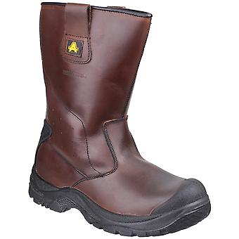 Amblers Safety Mens AS249 Cadair Waterproof Pull On Rigger Boots