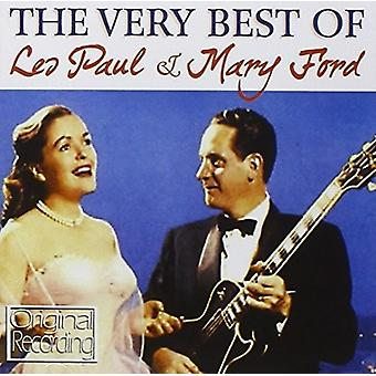 Paul*Les / Ford*Mary - Very Best of Les Paul & Mary Ford [Vinyl] USA import