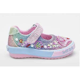 Lelli Kelly Tillie LK5018 Rainbow Glitter Babyschuhe