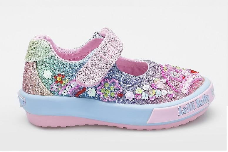Lelli Kelly Tillie   LK5018 Rainbow Glitter chaussures