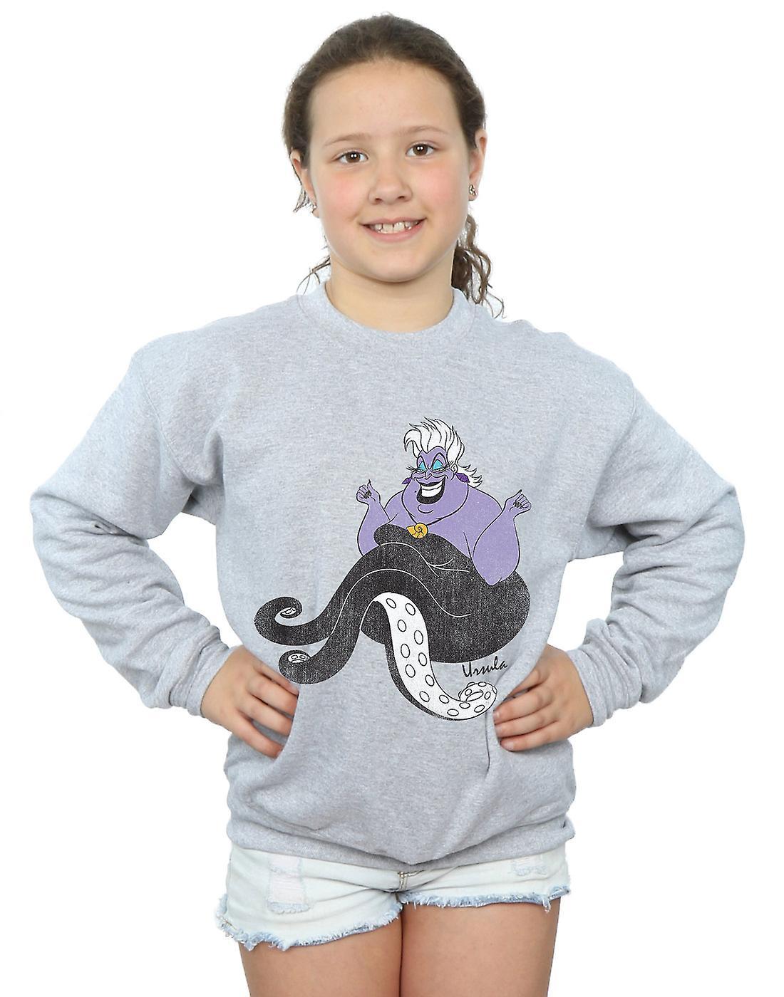 Disney Girls The Little Mermaid Classic Ursula Sweatshirt