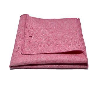 Stonewashed Red Pocket Square, Handkerchief