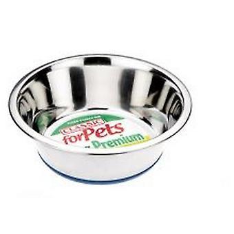Caldex Classic Non Slip Steel Cat Dish