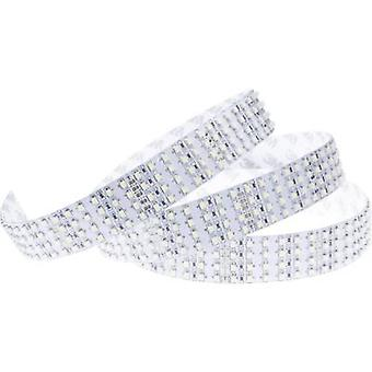LED strip + solder lugs 24 V 5.33 cm Warm white, Cold white ledxon 9009095 9009095