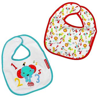 Fisher Price baby Haklapp 2 pack