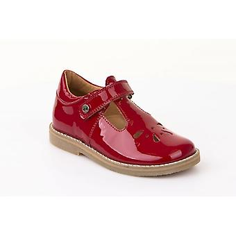 Froddo Froddo G3140067-1 Red Patent Leather T-Bar Shoes