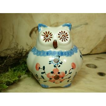 Eule, 2. Wahl, 10,5 cm hoch, Tradition 53 - polish pottery - BSN 22508