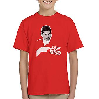 Freddie Mercury Of Queen 1981 Kid's T-Shirt