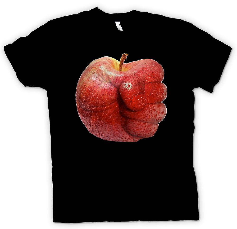 Heren T-shirt - Apple Fist - Cool afbeelding