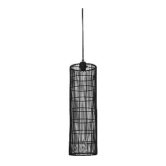 Light & Living Hanging Pendant Lamp D19x60cm Sytha Matted Black
