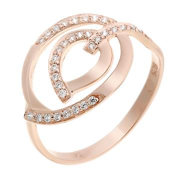 Orphelia Silver 925 Ring Rose  Zirconium   ZR-7114/RG