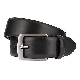 LLOYD Men's belt belts men's belts leather belt black 6590