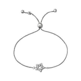 Ster - 925 Sterling zilveren ketting armbanden - W37475X