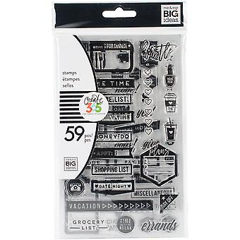 Create 365 Planner Clear Stamps-Everyday