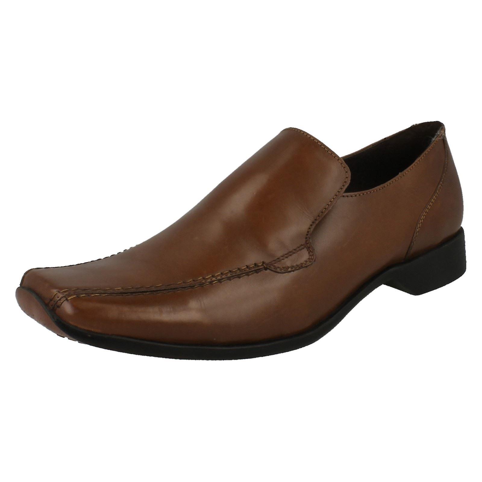 Mens Maverick tacco basso scarpe formali   elegante    Sig/Sig Ra Scarpa
