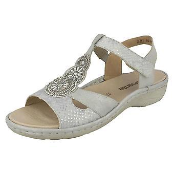 Las señoras retan charol sandalias D7645