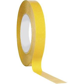 Double sided adhesive tape Transparent (L x W) 50 m x 19 mm TOO