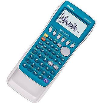 Graphing calculator Casio fx-7400GII Cyan Display (digits): 21 battery-powered (W x H x D) 87.5 x 21.3 x 180.5 mm