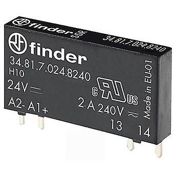 Finder SSR 1 pc(s) 34.81.7.024.8240 Switching voltage (max.): 275 V AC Zero crossing