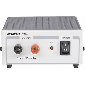 PSU de banc de VOLTCRAFT FSP 1204 (fixe tension) 11-15 Vdc 4 A 60 W no. des sorties 1 x