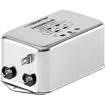 Schaffner FN2090-16-06 EMI filtrere 250 V AC 16 A 4 mH (L x b x H) 113.5 x 57,5 x 45,4 mm 1 eller flere PCer