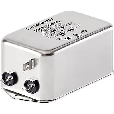 Schaffner FN2090-10-06 EMI filter 250 V AC 10 A 8 mH (L x W x H) 113.5 x 57.5 x 45.4 mm 1 pc(s)