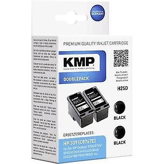 KMP Ink replaced HP 339 Compatible Dual Black