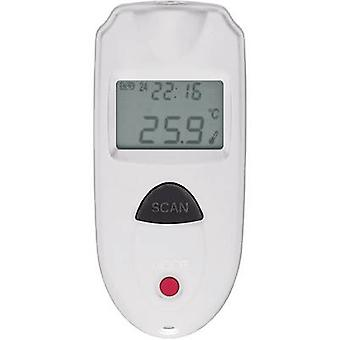 VOLTCRAFT IR110-1S IR thermometer Display (thermometer) 1:1 -33 up to +110 °C Pyrometer Calibrated to: Manufacturer's st