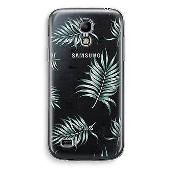 Samsung Galaxy S4 Mini przezroczyst - prosty liści