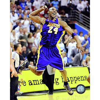 Kobe Bryant Game Five of the 2009 NBA Finals Celebration (#22) Photo Print (8 x 10)