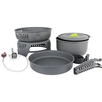 Yellowstone Tornado Cook Set Outdoor Cooking Equipment for Camping Trips