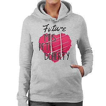 Future Mrs Pete Doherty Libertines Women's Hooded Sweatshirt