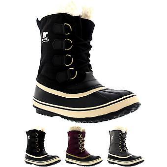 Womens Sorel Carnaval canard neige pluie hiver laine bottes imperméables