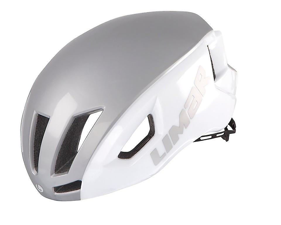 Casque de vélo Limar vitesse air     blanc argent